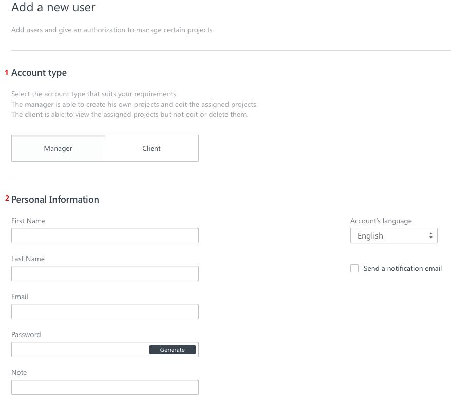 users adding